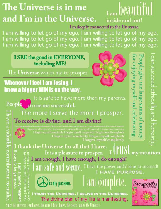 Prosperity Blooms Manifesto