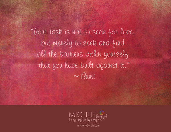 barriers to love rumi