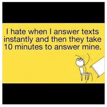 Texting Pet Peeve  940 and 317