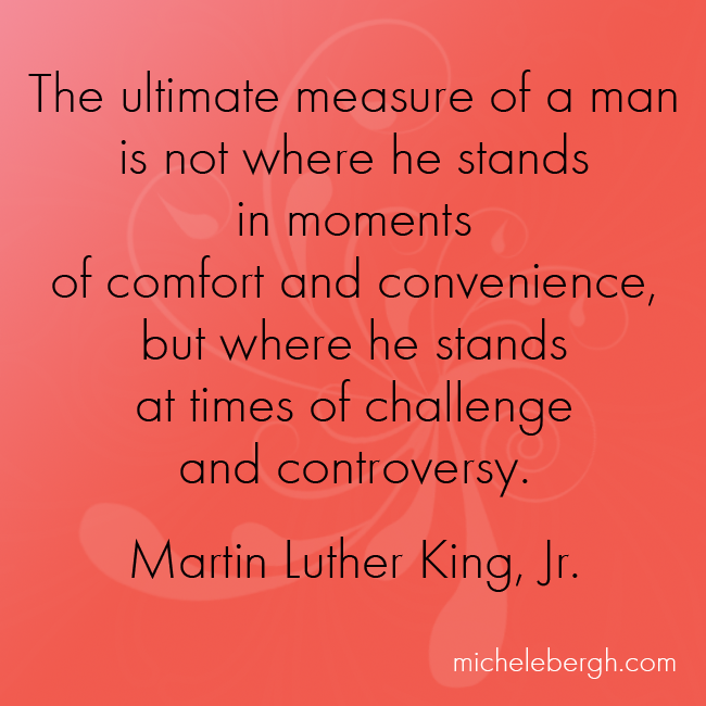 The Ultimate Measure of a Man