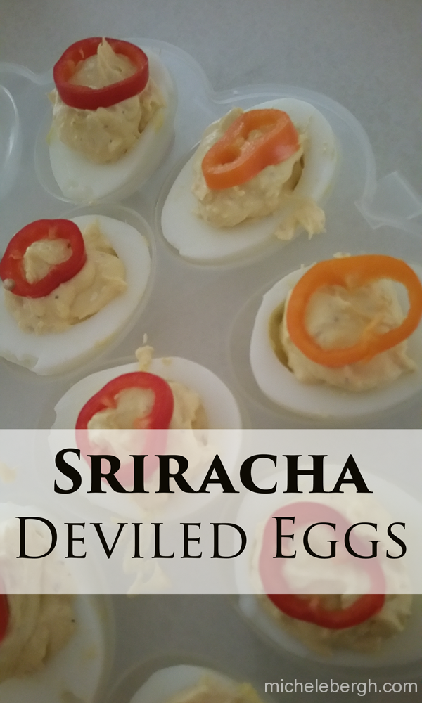 How to Make Perfect Sriracha Deviled Eggs