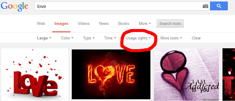 reuse google images