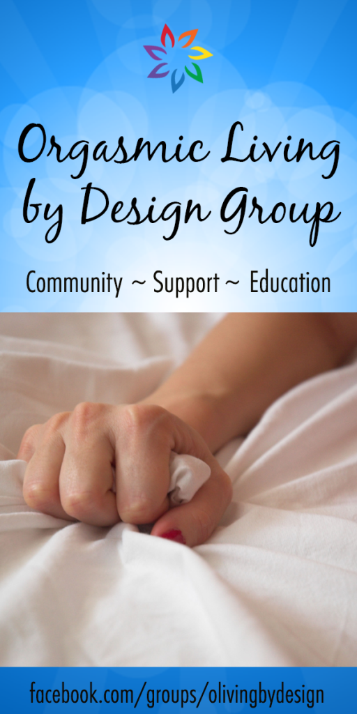 orgasmic living by design facebook group