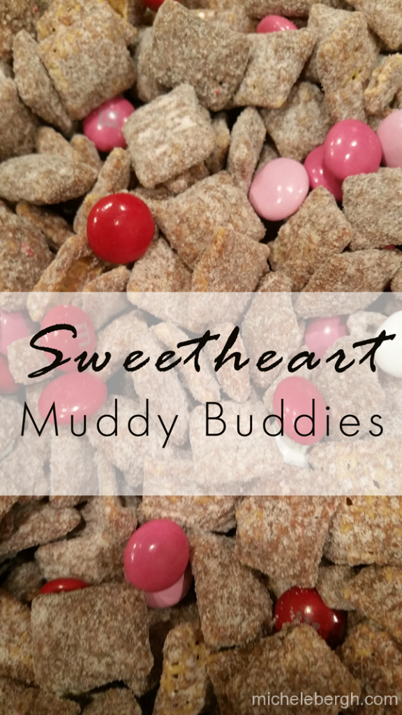 sweetheart muddy buddies