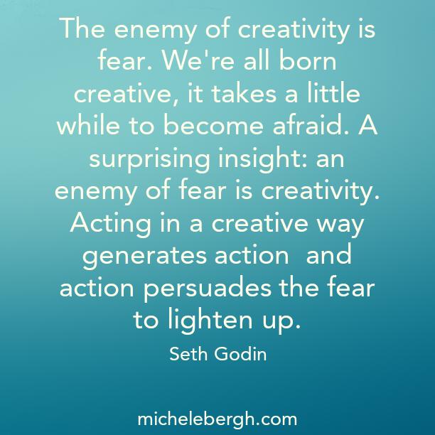 creativity and fear