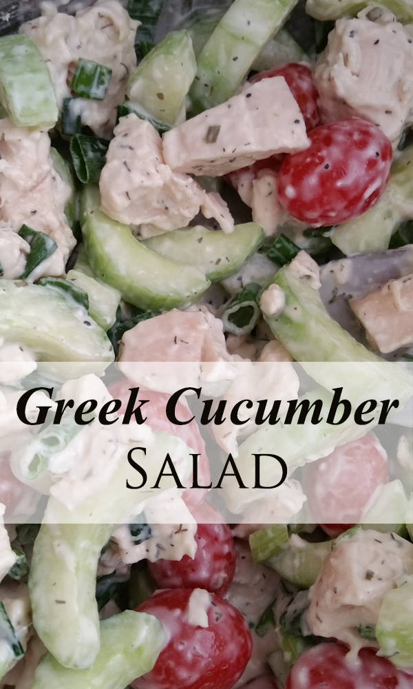 greek cucumber salad