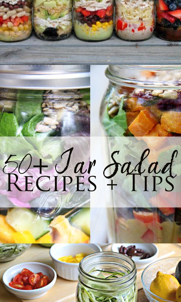 jar salad recipes and tips