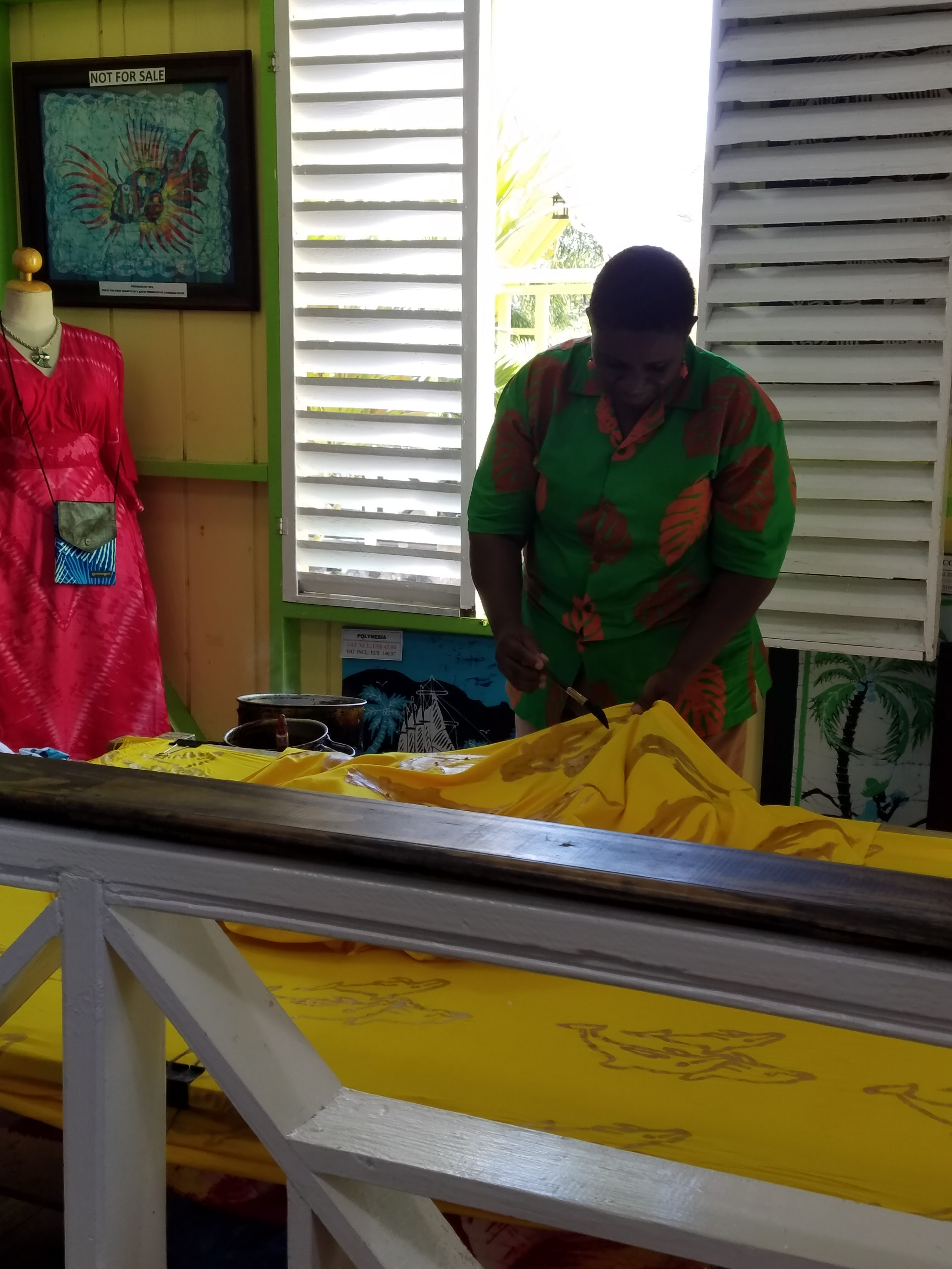 Batik Shop in St. Kitts