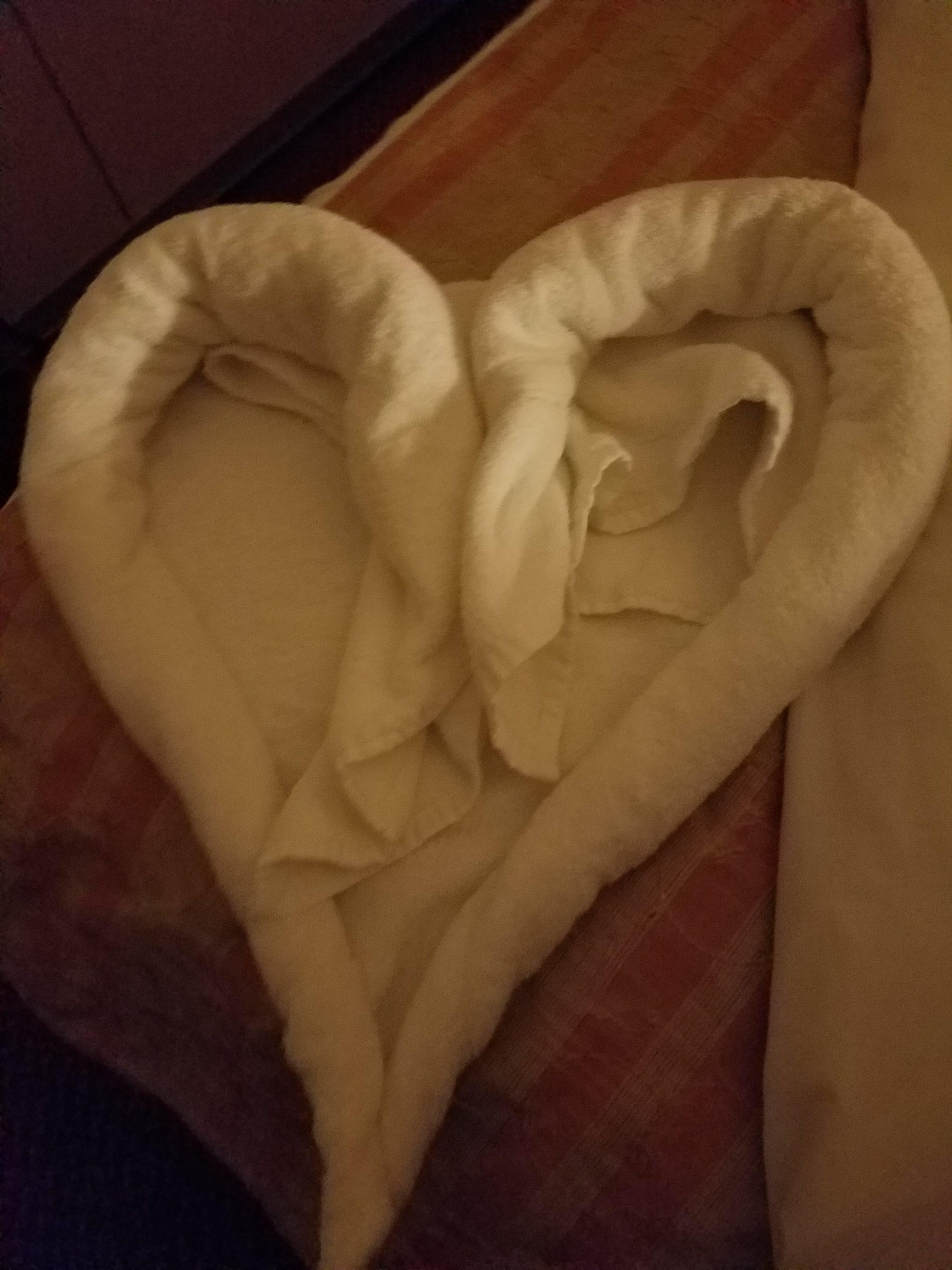 Towel Heart